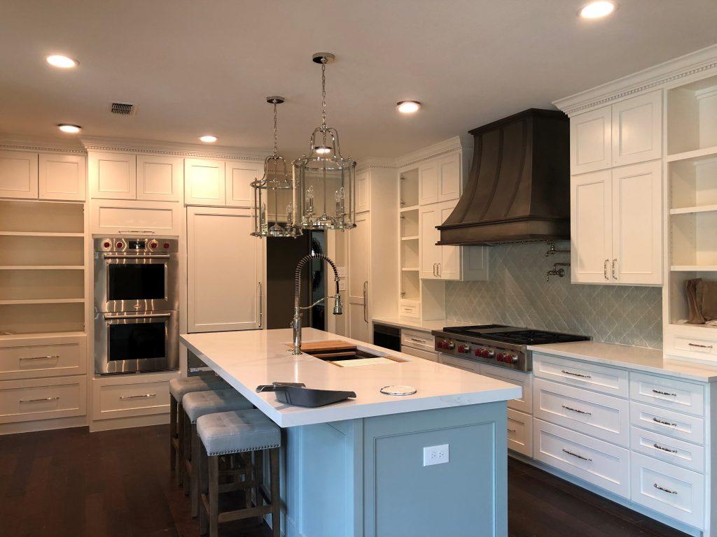 kitchen cabinet painting, cabinet staining, plano, wylie, richardson, garland, allen, fairview, mckinney, frisco, prosper